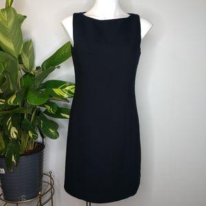 GAP black sheath dress size 8